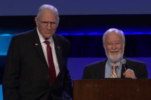 Chuck Missler and Gary Stearman at Orlando Prophecy Summit